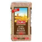 DURU BROWN COARSE BULGUR 1KG YENI PAKET